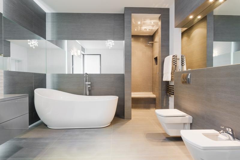 Mała łazienka Jak Przy Pomocy Płytek Powiększyć Wnętrze