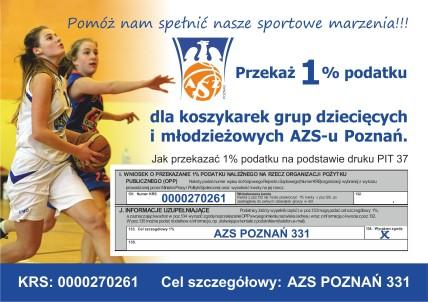 AZS Poznan 1 procent