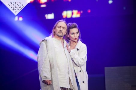 Jesus Christ Superstar,Marek Piekarczyk i Anna Lasota,fot.Fotobueno