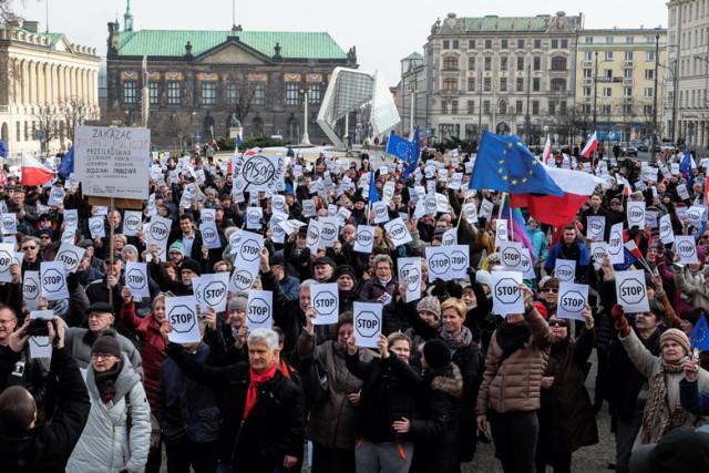 Manifestacja Paweł F. Matysiak 3
