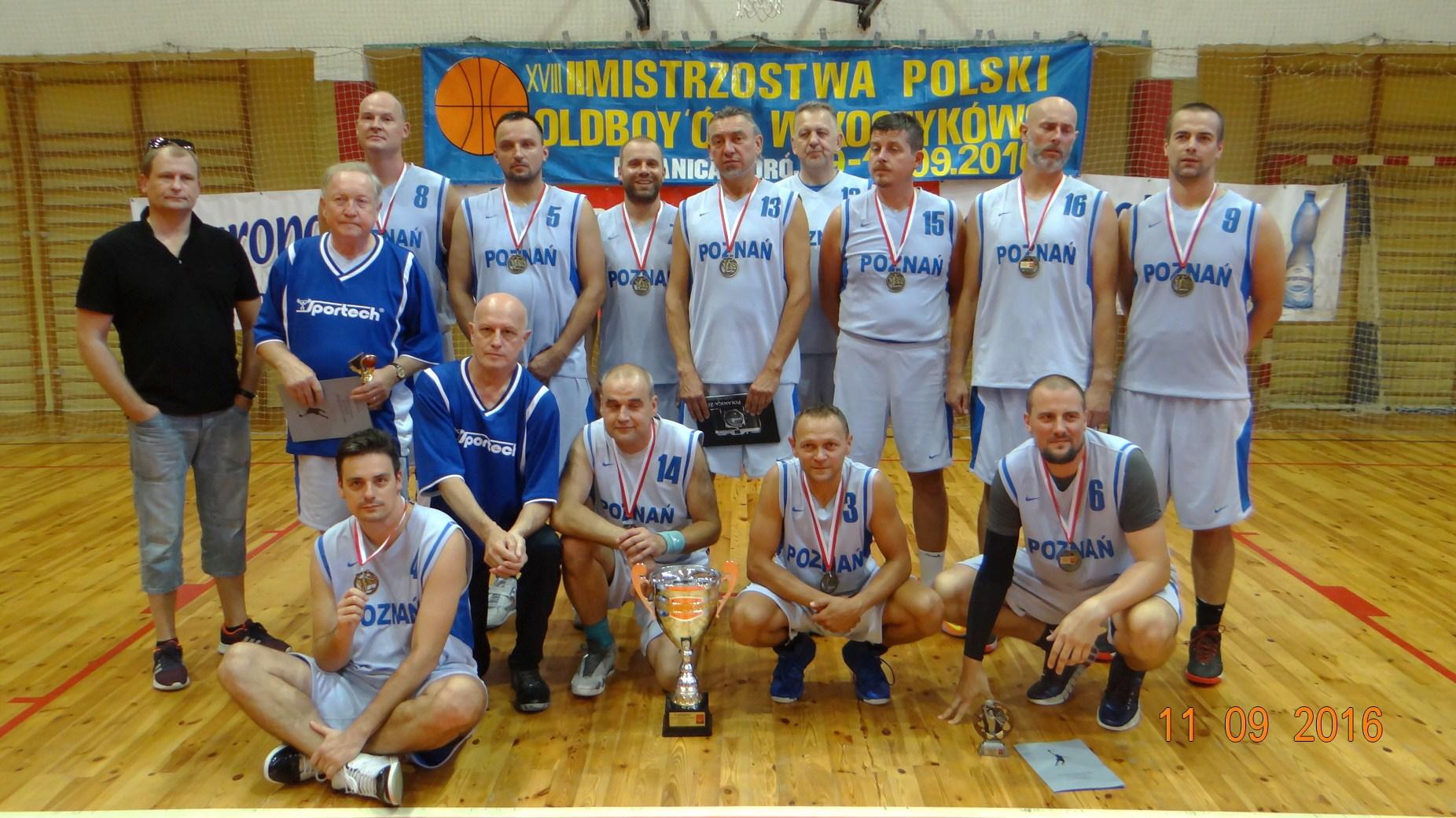 XVIII Mistrzostw Polski Oldboyów - Poznań 2016