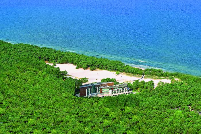 HAVET Hotel znajduje się na pięknej wydmie.