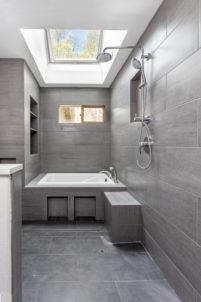 Szare Płytki Ceramiczne W Aranżacji łazienki Element